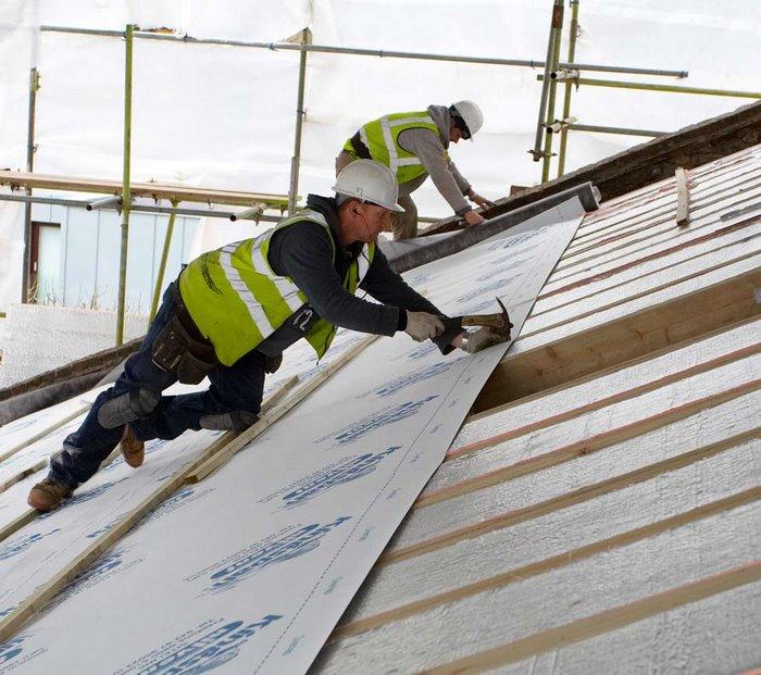 عایق کاری رطوبتی شالوده ها,عایق کاری ساختمان,عایق کاری سقف شیب دار,