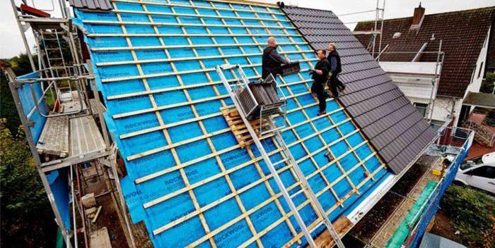 عایق کاری رطوبتی شالوده ها,عایق کاری ساختمان,عایق کاری سقف شیب دار