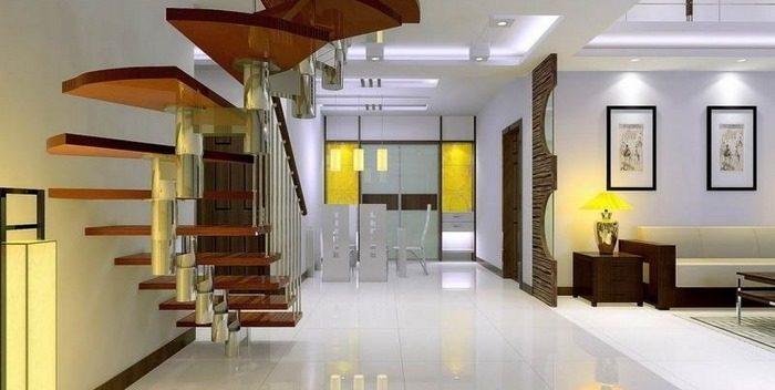 انواع پله های مستقیم,انواع راه پله داخل ساختمان,راه پله داخل ساختمان
